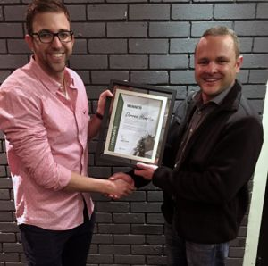 Darren Hampton - CE Winner - Aug2016