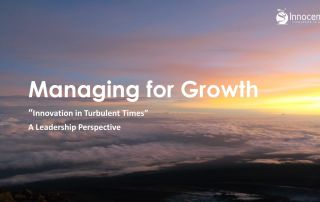 Managing for Growth